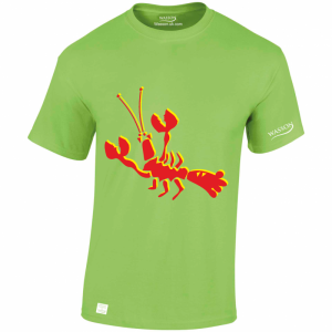 crazy-lobster-lime-green-tshirt-wasson