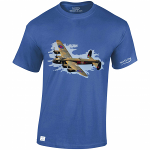 lancaster-bomber-royal-blue-tshirt-wasson