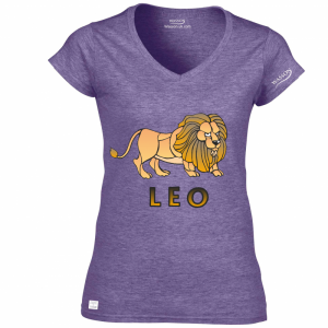 leo-horoscopes-heather-purple-tshirt