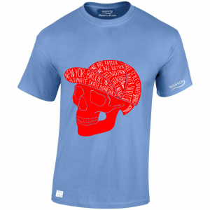 skateboarding-scull-carolina-blue-tshirt