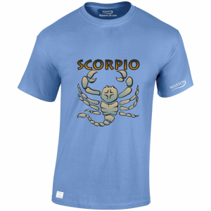 scorpio-horoscopes-carolina-blue-tshirt