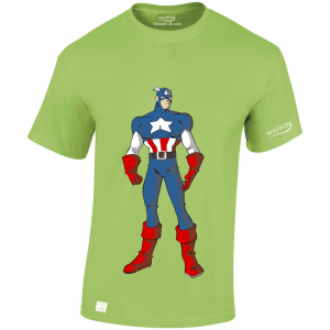avengers-captain-america-01-lime-gren-tshirt-wassontshirts-co-uk