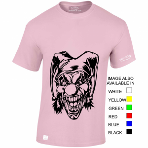 Crazy Clown – T Shirt Desgin