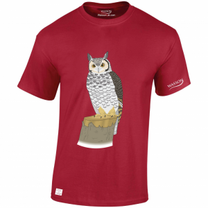 greatowl-cardinal-red-t-shirt-wasson