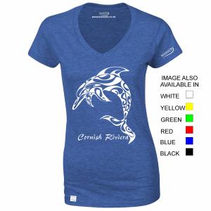 cornish-riviera-dolphin-2-ladies-royal-blue-tshirt-wassontshirts-co-uk