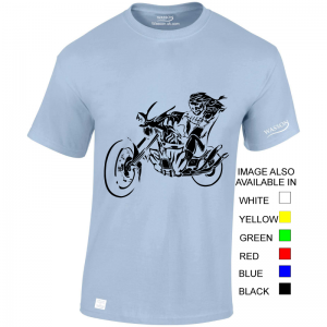 Devil To Ride – T Shirt Desgin