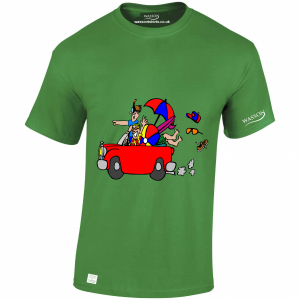 happy-holidays-irish-green-tshirt-wasson-tshirts-co-uk