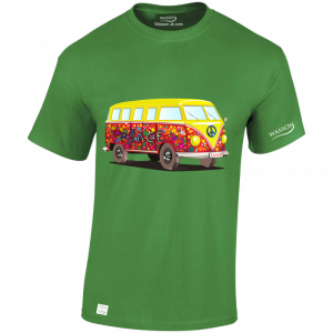 VW Campervan – T Shirt Desgin