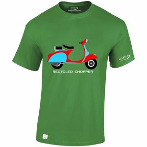 Vespa Scooter – T Shirt Desgin