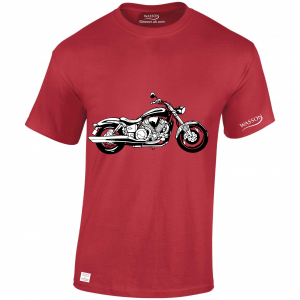 triumph red tshirt WASSONTSHIRTS.CO.UK