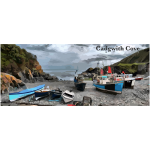 Cadgwith Cove Lizard & Falmoth Cornwall