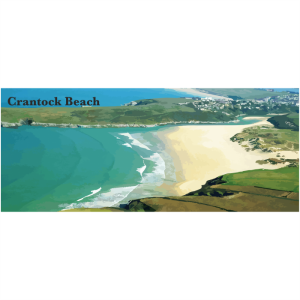 Crantock beach North Cornwall