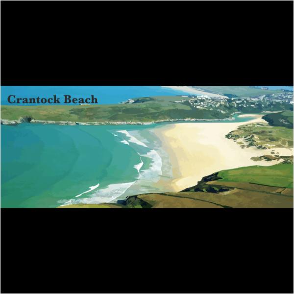 Crantock beach North Cornwall