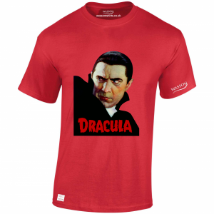 Dracula Red tshirt wassontshirts.co.uk