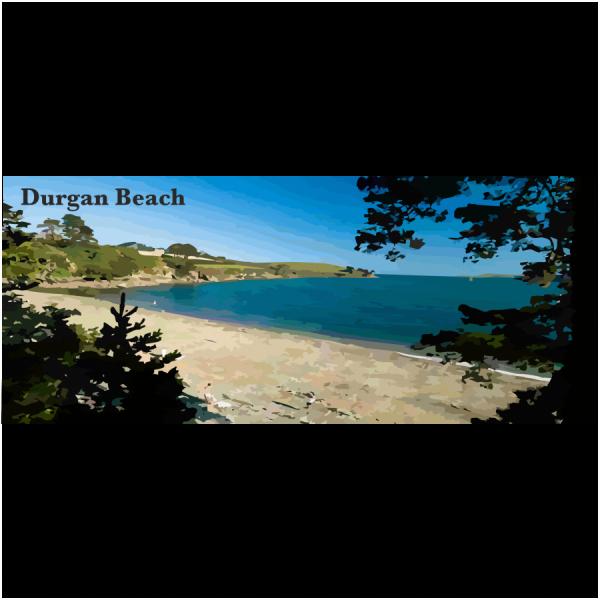 Durgan Beach Lizard & Falmouth Cornwall