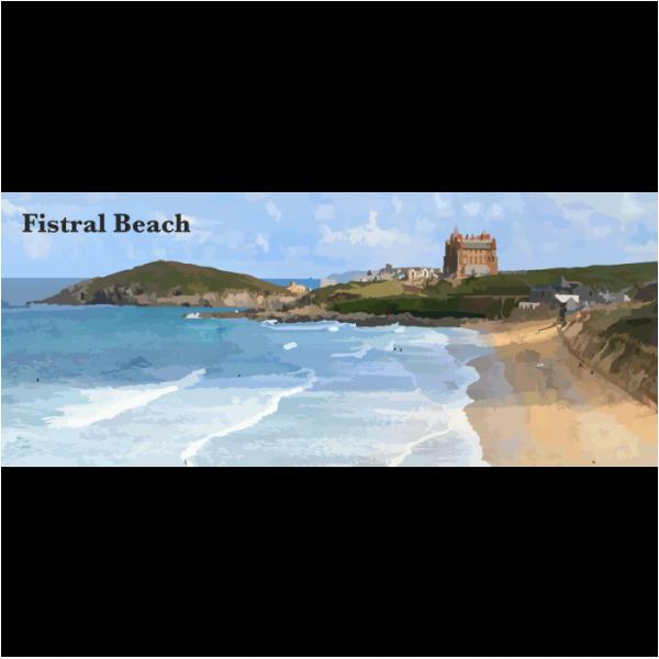 Fistral Beach North Cornwall