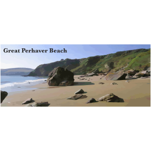 Great Perhaver Beach Cornish Riviera