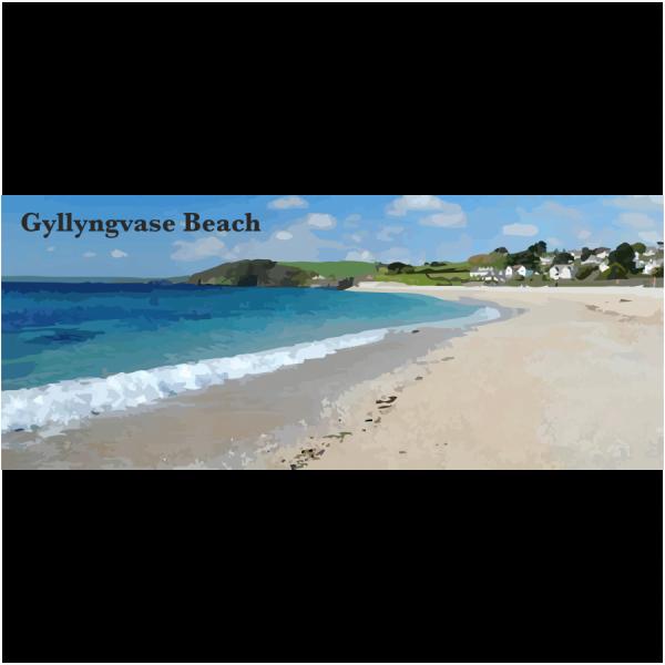Gyllyngvase Beach Lizard & Falmouth Cornwall
