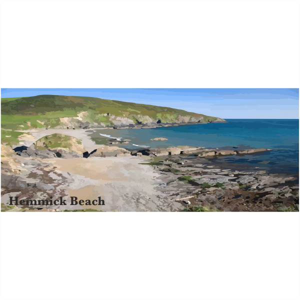 Hemmick Beach Cornish Riviera