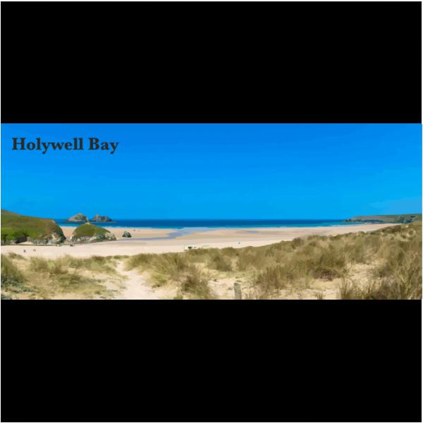 Hollywell Bay North Cornwall