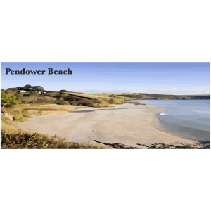 Pendower Beach Cornish Riviera