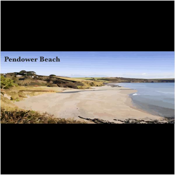 Pendower Beach Cornish Riviera