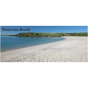 Pentewan Beach Cornish Riviera