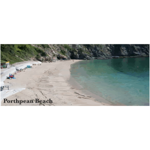 Porthpean Beach Cornish Riviera