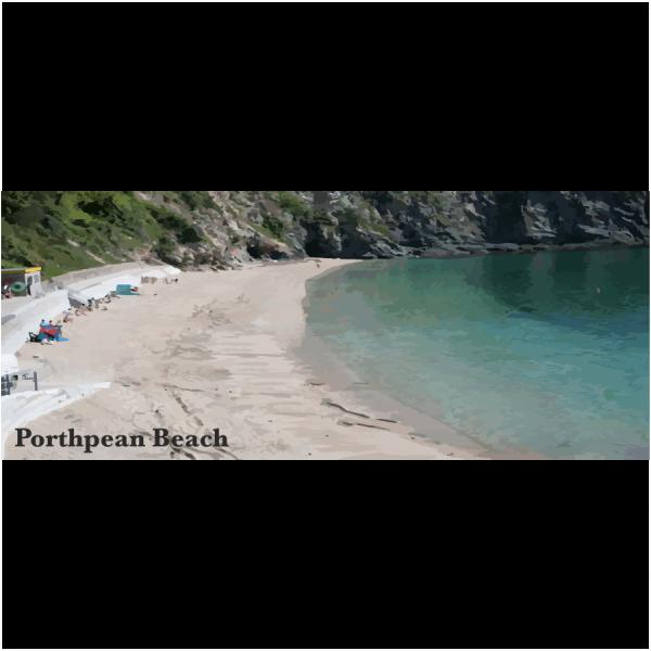 Porthpean Beach Cornish Riviera