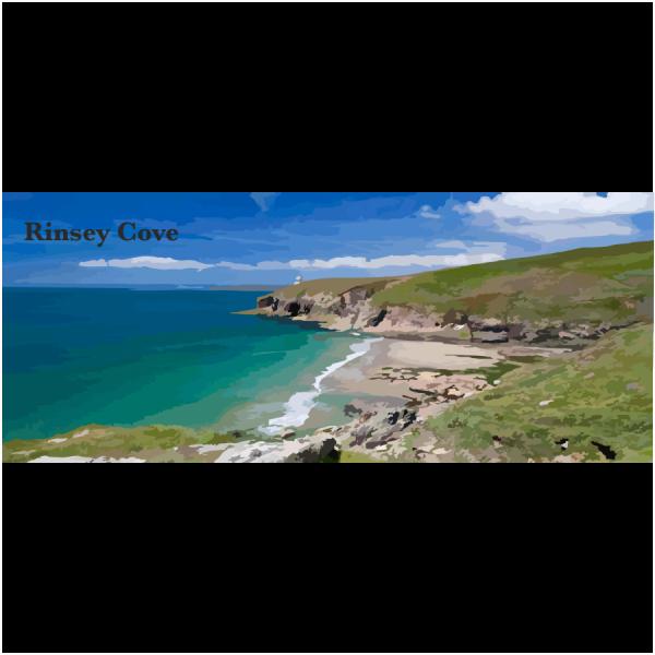 Rinsey cove Lizard & Falmouth Cornwall