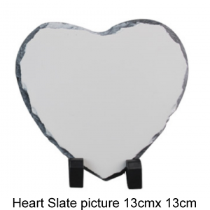 Heart shaped Slate