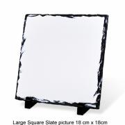 Large Square Slate