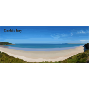 Carbis bay West Cornwall