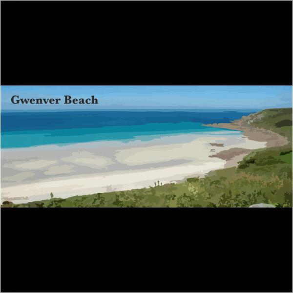 Gwenver Beach West Cornwall
