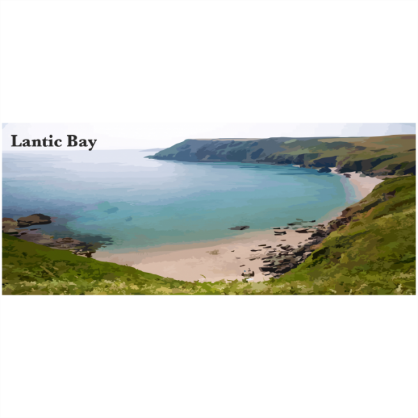 Lantic bay South East Cornwall
