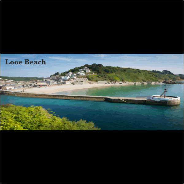 Looe Beach South East Cornwall