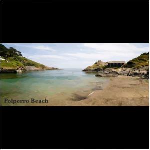 Polperro Beach South East Cornwall