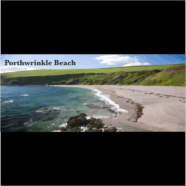 Porthwrinkle Beach South East Cornwall