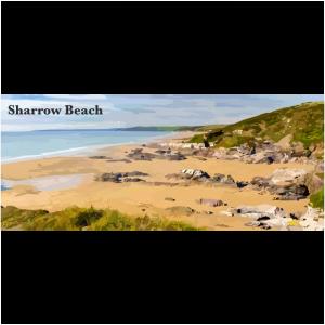 Sharrow Beach South East Cornwall