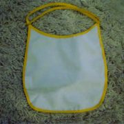 Baby Bibs Yellow personalised bespoke Dog friendly pet image