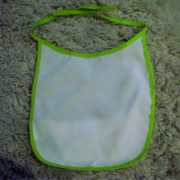 Baby Bibs Green personalised bespoke Dog friendly pet image