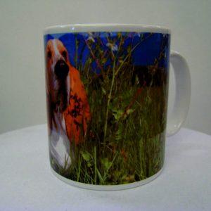 Personalised Ceramic Mug Ultra White 10oz bespoke