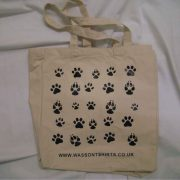 Cotton Canvas Bag 19Lt Personalised bespoke add your own image or name dog friendly